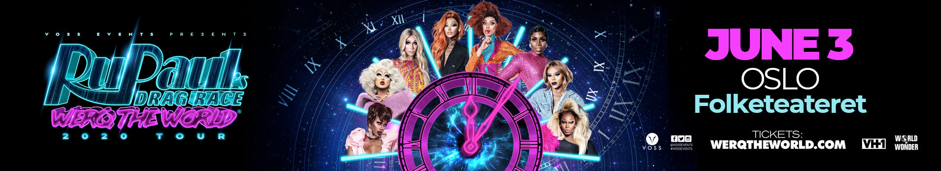 UTSATT! RuPaul`s Drag Race: Werq the World Tour 2020